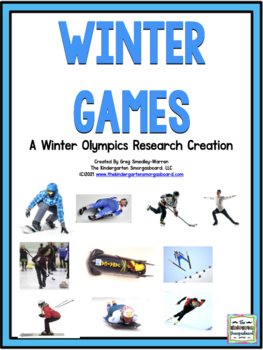Winter Games! Winter Olympics Research Project PLUS Centers