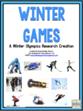 Winter Games: A Research and Writing Project PLUS Centers!