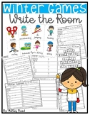 Winter Games Write the Room ~ Differentiated