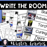 Winter Games Write the Room