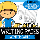 Winter Games Writing Paper