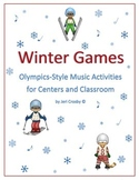 Winter Games for the Music Classroom - Centers, Rotations