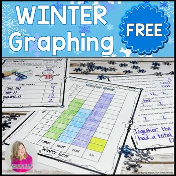 Winter Gear Graphing Freebie