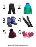Winter Gear Sequencing Poster