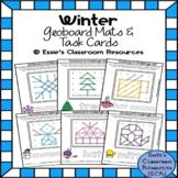 Winter Geoboard Activity Mats & Task Cards