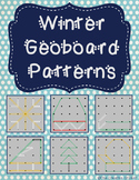 Winter Geoboard Patterns