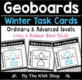 Geoboard Task Cards - Winter Theme