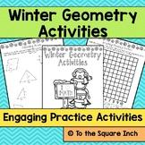 Winter Geometry Activities