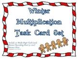 Winter Gingerbread Man Multiplication Game Intermediate 2-