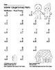 """Winter Gingerbread Math"" Mixed Multiplication - Common Core - Fun! (black line)"
