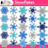 Snowflakes Clip Art