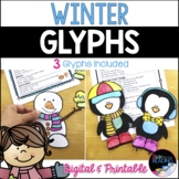 Winter Activities: 3  Low Prep Winter Crafts / Glyphs, Winter Bulletin Board