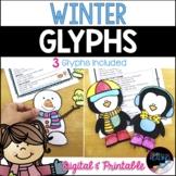 Winter Glyphs: Printable & Digital Winter Activities, Low