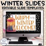 Winter Google Slides Templates Distance Learning