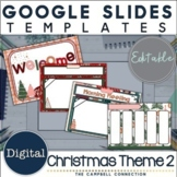 Christmas Google Slides Template 2 | Distance Learning