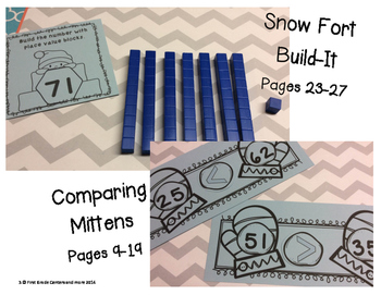 Winter Grab and Go:  7 math games for independent practice