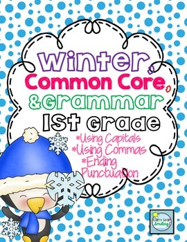 Winter Grammar 1st Grade