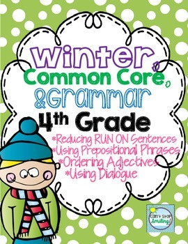 Winter Grammar 4th Grade