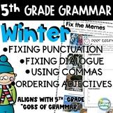 5th Grade Grammar Practice ~ Grammar Worksheets 5th Grade