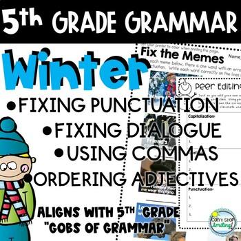 5th grade grammar practice grammar worksheets 5th grade tpt 5th grade grammar practice grammar worksheets 5th grade sciox Images