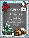 Winter Grammar Activities