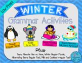 Winter Grammar Activities for Speech Therapy