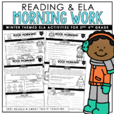 Winter Grammar & Comprehension Morning Work