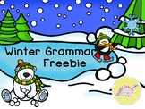 Winter Grammar Freebie