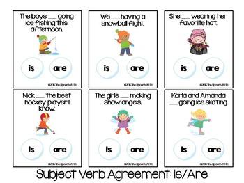 Winter Grammar Games
