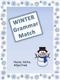 Winter Grammar Match