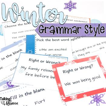 Winter: Grammar Style