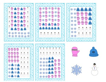 Winter Graph Math Center