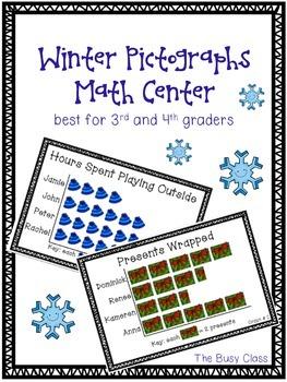 Pictographs Math Center (3rd-4th)