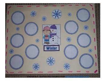 Winter Graphic Organizer Anchor Chart (small)