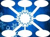 Winter Graphic Organizer Web Speech Teletherapy