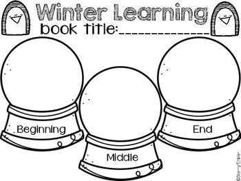 Winter Graphic Organizers-Reading Responses