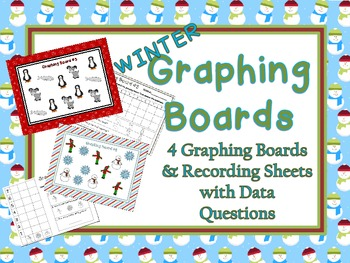 Winter Graphing Boards