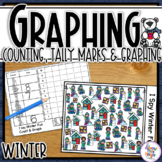 Winter Graphing - I Spy - counting, tally mark & graphing
