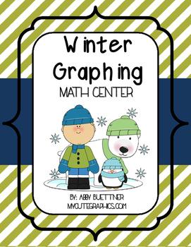 Winter Graphing Math Center
