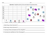 Winter Graphing Worksheet Morning Work Math