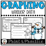 Winter Graphing Worksheet Bundle
