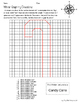 Winter Graphing using Cardinal Directions worksheet