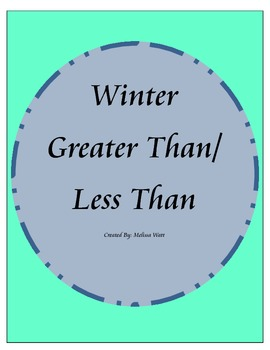 Winter Greater Than/Less Than