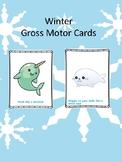 Winter Gross Motor Cards (No Prep, Just Print!)