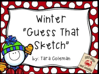 Winter Guess That Sketch Freebie