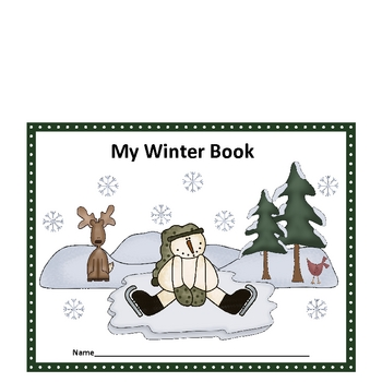 Winter Guided Writing Book