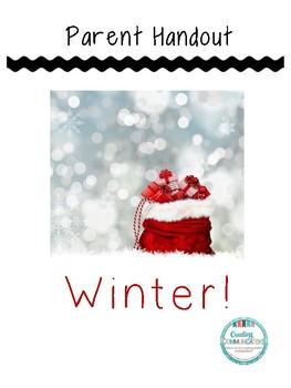 Winter Handout