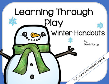 Winter Handouts - Learning Through Play