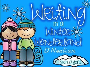 Winter Handwriting {D'Nealian}