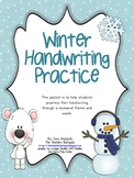 Winter Handwriting Practice Packet